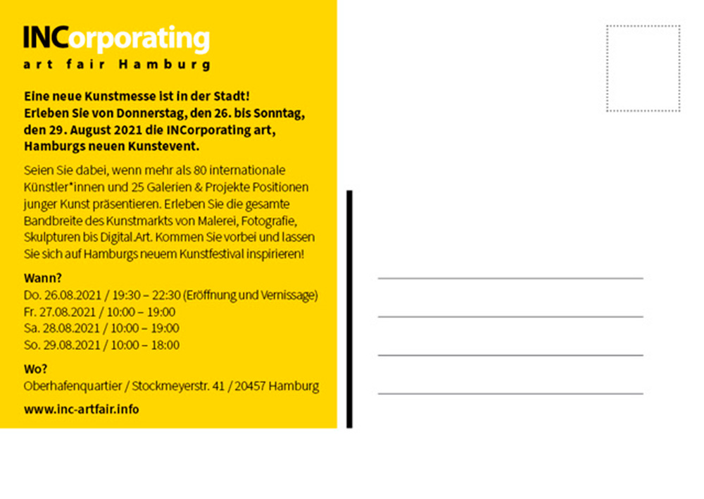 INCorporating Art Fair | Chiemgau Galerie Augustin 2021 | John Schmitz