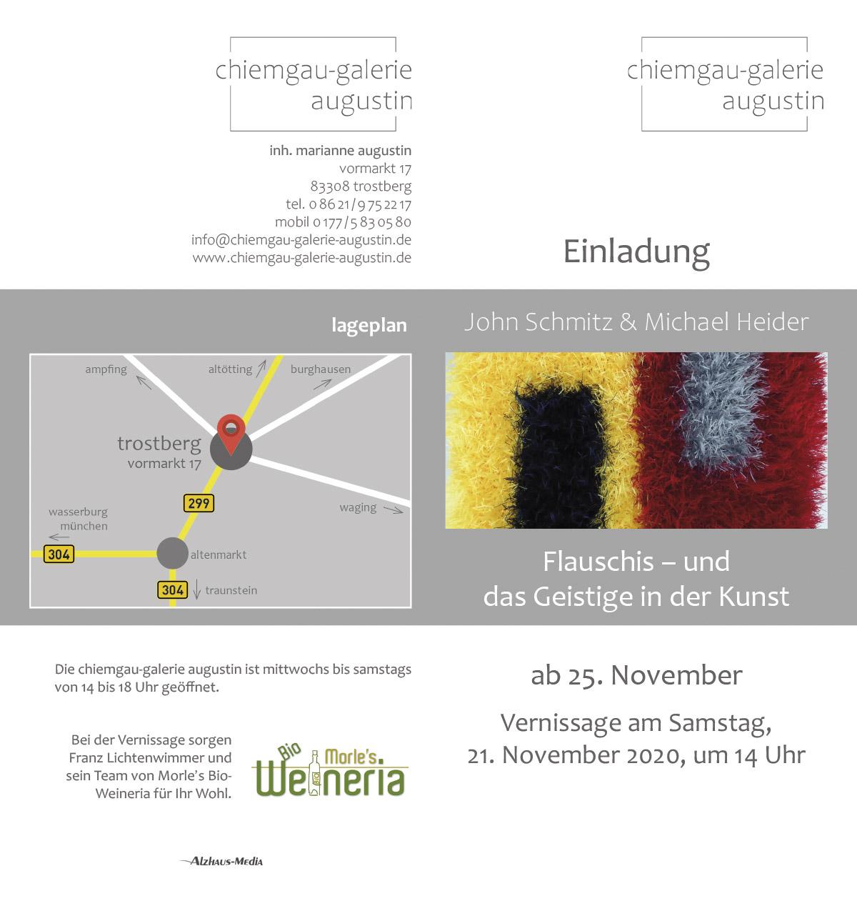 Flauschi | Chiemgau-Galerie Augustin | John Schmitz mit Michael Heider